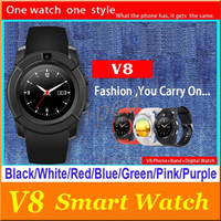 V8 Smarthwatch Bluetooth Wathces with Camera SIM And TF Card...