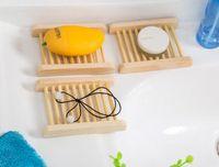 Portasapone in legno naturale Portasapone in legno Portasapone portasapone Contenitore per vasca da bagno Piatto doccia