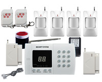 Wireless PSTN PIR Home Security Burglar Alarm System Auto Di...