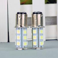 LED 자동차 전구 T25 S25 1157 BA15S 18 SMD 12V 백색 LED 전구 돔 꼬리 중지 주차 게이지 빛 범용 LED 램프