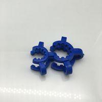 14mm 18mm K-Clips De Plástico Keck Clipe Clamp Clipe De Laboratório Keck Clamps Colorido Clipe De Braçadeira De Plástico Vidro Para O Adaptador De Vidro Nectar Collector