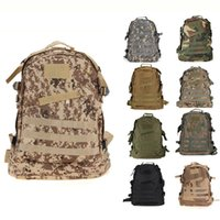 Outdoor 3D Military Army SWAT Tactical Molle Backpack Camping Trekking Sport Bag Camouflage Grande zaino da viaggio