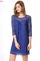 Hot Fashion Sexy Lace Dress Womens Clothing Half Sleeve O- ne...