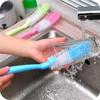Bottle Brushes Cleaning Tube Bottle Brush Cup Wash Bottle Ny...