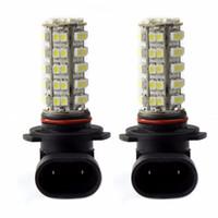 2 szt 9005 HB3 H10 68 LED Light Light Light 3528 SMD 12 V White 6000K LED Żarówka Dzień Dnia Dzienna Mgła Jazda Światła Uniwersalna Lampa LED
