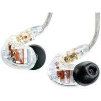 Top Seller SE535 In-Ear Earphones HIFI cancelamento de ruído fones de ouvido handsfree Auscultadores com LOGO Retail Pacote Bronze frete grátis