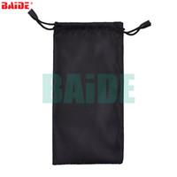 Sacs noirs colorés de sacs d'outils pour les lunettes de soleil