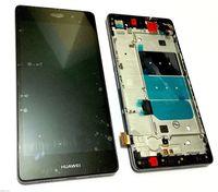 """5.0"""" для Huawei Ascend P8 Lite ЖК-дисплей + сенсорный стеклянный дигитайзер рамка Ассамблеи черный и белый и золото"""