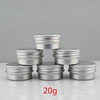 Contenitore cosmetico professionale del contenitore di imballaggio cosmetico del metallo 20ml del barattolo di alluminio 20G / di 20pcs / lot