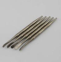 GR2 Titanium Dabber Tool Con Ball and Scoop per olio cera Titanium Dabble L 110mm