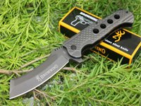 Browning 363 Titanium Tactical Folding Knives 3Cr13Mov Snake...