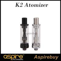 Tanques Aspire K2 tanque atomizador 1,8 ml 1.6ohm BVC bobina 800mAh Aspire K2 Ecig cigarrillo VS Aapire K3 electrónico del tanque de Vape Auténtico