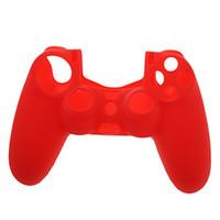 La nuova vendita arriva pelle di protezione della pelle della copertura della pelle per Sony Playstation 4 controller PS4
