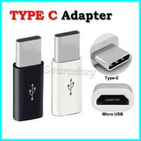 도매 DHL 무료 배송 usb 2.0 유형 C 남성 마이크로 USB 여성 미니 커넥터 어댑터 데이터 동기화 충전 케이블 유형 C 변환기