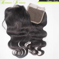 Дешевые девственные монгольские волосы кружева Cloure 4x4 100% человеческих волос продвижение цена оптовая