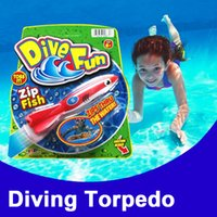 Zorn- Throwing torpedo kids toys SwimWays Bandits Toypedo Div...