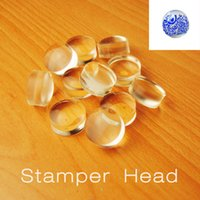 2016 Exclusive Clear Jelly 2. 8cm Nail Stamper Refill Stampin...