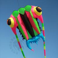3D 10 m² 1 ligne couleurs Stunt Parafoil Trilobites POWER Sport cerf-volant jouet de plein air