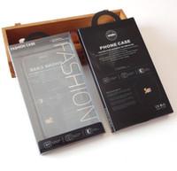 Toptan Moda Cep Telefonu Kılıfı Kutusu Perakende Paket Cep Telefonu Kılıfı Aksesuarları iPhone Samsung Için Kağıt Plastik Ambalaj Kutusu Kılıf