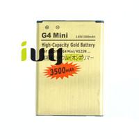 BL-49SF BL49SF BL 49SF 3500mAh batteria di ricambio in oro per LG G4 Mini G4C G4S H735T H525N G4Mini G4beat G4 Batterie Beat Batterie Batteria