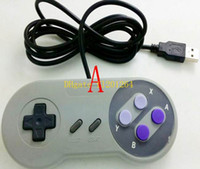 30pcs / lot Fast expédition Super Excellente Super SF SNES contrôleur Windows USB Gamepad Joypad USB joypad