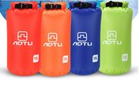 10L Su Geçirmez Kuru Bags190T Polyester Kumaş su geçirmez kılıfı çanta yüzme sürüklenen çanta ile ayarlanabilir tek omuz askısı