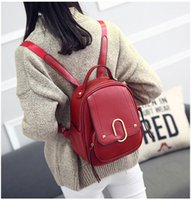 Vogue Star NEW fashion backpack women backpack Leather schoo...