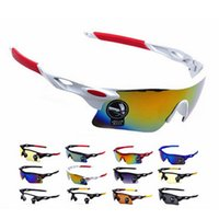Wholesale- Men Glasses UV400 Outdoor Sports Windproof lunette...