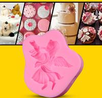 Angel Horn Silicone Mold Cakevorm Siliconen Bakken Gereedschap Keuken Accessoires Decoraties Fondant Tool TY1776