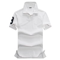 New Fashion Camisetas Masculinas Hommes Polos Hommes Camisas Polo Hommes Vêtements Broderie 3 T-shirts à manches courtes