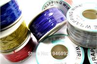 Al por mayor-de alta calidad de envoltura de alambre eléctrico Wrap 10 colores hilo único de cobre AWG30 cable OK alambre de PCB de alambre