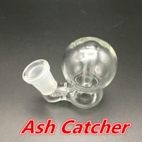 14mm 18mm 애쉬 포수 유리 그릇 Calabash 디자인 봉수 물 담뱃대 흡연 액세서리 버블 러