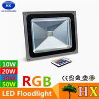 10W 20W 30W 50W Led RGB Floodlights Warm Natrual Cold White ...