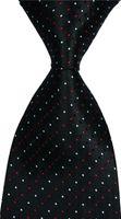 Erkekler Ekose Tie İpek Kravat Turuncu Kırmızı Jakarlı Parti Düğün Dokuma Moda Tasarımı csw89