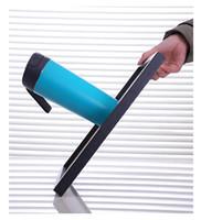 매직 텀블 컵 빠는 컵 휴대용 컵 500ML 진공 컵 18/10 스테인레스 스틸 내부 식품 학년 재료