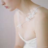 White Lace Sparkle Leaf Hair Clip Wedding Hair Decorations H...