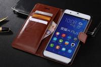 화웨이 명예 6 플러스 케이스 커버 2016 럭셔리 원래 귀여운 하드 플립 전화 지갑 가죽 케이스 화웨이 명예 6 플러스 들어