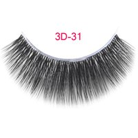 3D- 31 3D silkeyelashes False Eyelashes Handmade Natural Long...