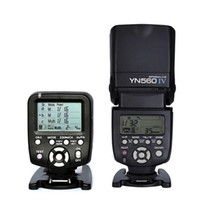 Yongnuo Flash YN560 IV Speedlite مع White Diffuser + YN560-TX 2.4G Trigger Wireless Contoller لكاميرا DSLR Canon Nikon