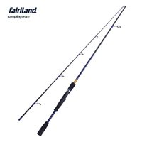 Fairiland 6.6ft 7ft Spinning Angelrute L UL Power Lure Angelrute hohe Kohlefaser 2 SEC fashioable leichtes Angelzubehör