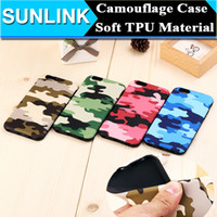 Fashion Camouflage Camo Phone Case TPU Soft Back Cover for i...