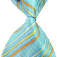 رجال الأعمال الرسمي التعادل 100٪ الحرير الكلاسيكية المنسوجة جاكار ربطة العنق مخطط العصرية عالية الجودة السائبة نحيل ربطة العنق لل زفاف