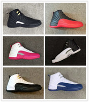 Classic 12 Basketball Shoes 12s Flu Game taxi bred French bl...