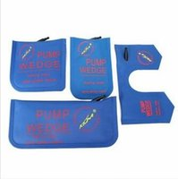 KLOM 4pcs / 1set Pompe Wedge Air Wedge Auto Serrurier Outil S / M / L / U Verrouillage Pick Set Air Bag Serrure Pick Outils