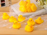 200pcs Cheap wholesale Baby Bath Water Toy toys Sounds Yello...