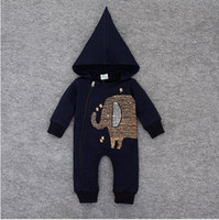 new newborn baby Rompers Spring baby boy and girl cotton cas...