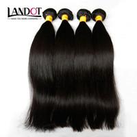 Brésiliens / Tresses de cheveux brésiliens tressés 3 PCS non transformés 6A 7A 8A 10A péruvien indien malaisien cambodgien droit remy / extensions de cheveux