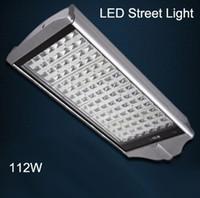 112W LED 가로등 IP65 야외 조명 램프 2 년 보증 높은 루멘 112W LED 가로등 가로등