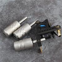 Ücretsiz Kargo 25 MM Paslanmaz Çelik Kartuş dövme Dövme Makineli Tüfek İpuçları Dövme İğneler için Kavrama Malzemeleri
