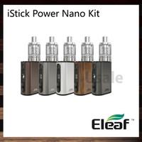 Eleaf iStick Power Nano Kit con iStick Power Nano 40W TC Mod 1100 mah Batería Melo 3 Nano 2 ml Tanque de llenado superior 100% original